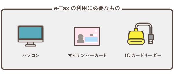 e-Taxの利用に必要なもの