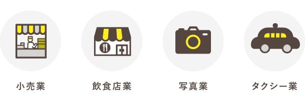 適格簡易請求書を発行できるのは小売業や飲食店業など